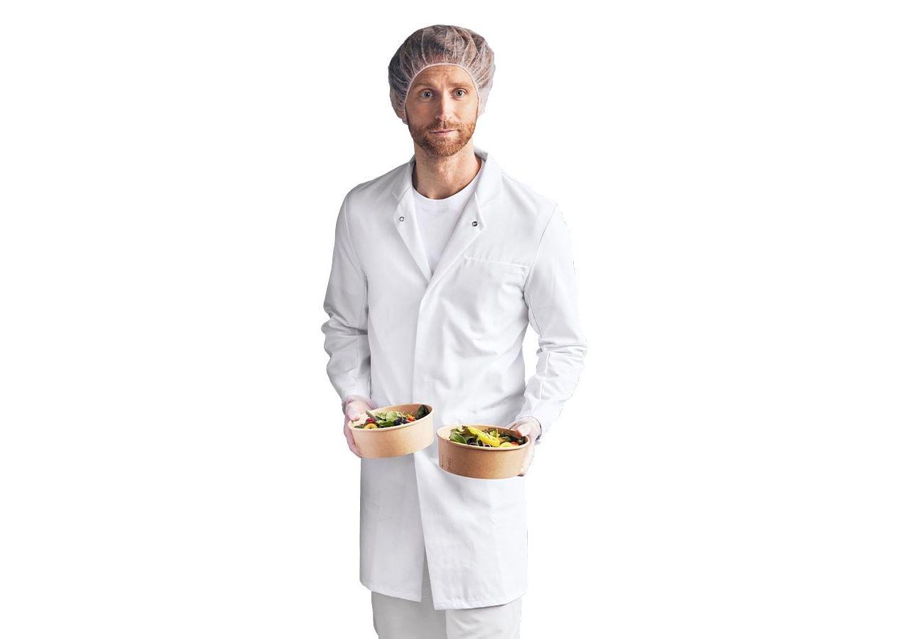 Pracovní pláště: Pracovní plášť HACCP + bílá