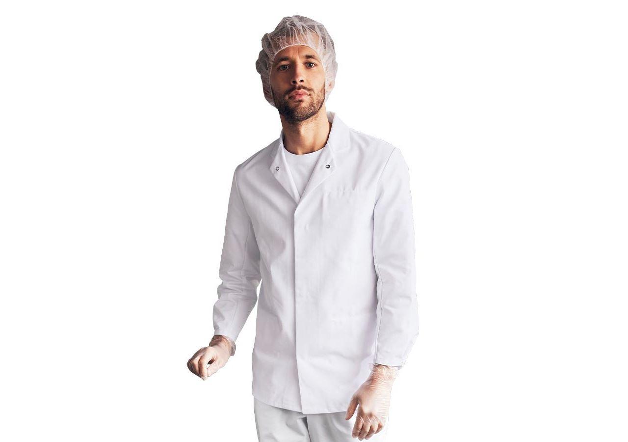 Pracovní bundy: Pracovní plášť HACCP + bílá