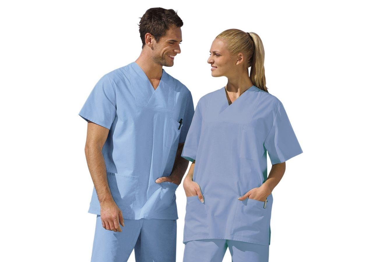 Trička   Svetry   Košile: Operační kazak + světlé modrý