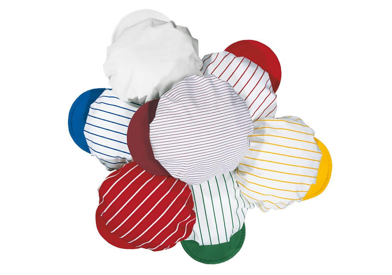 Doplňky: Balonová čepice + bílá