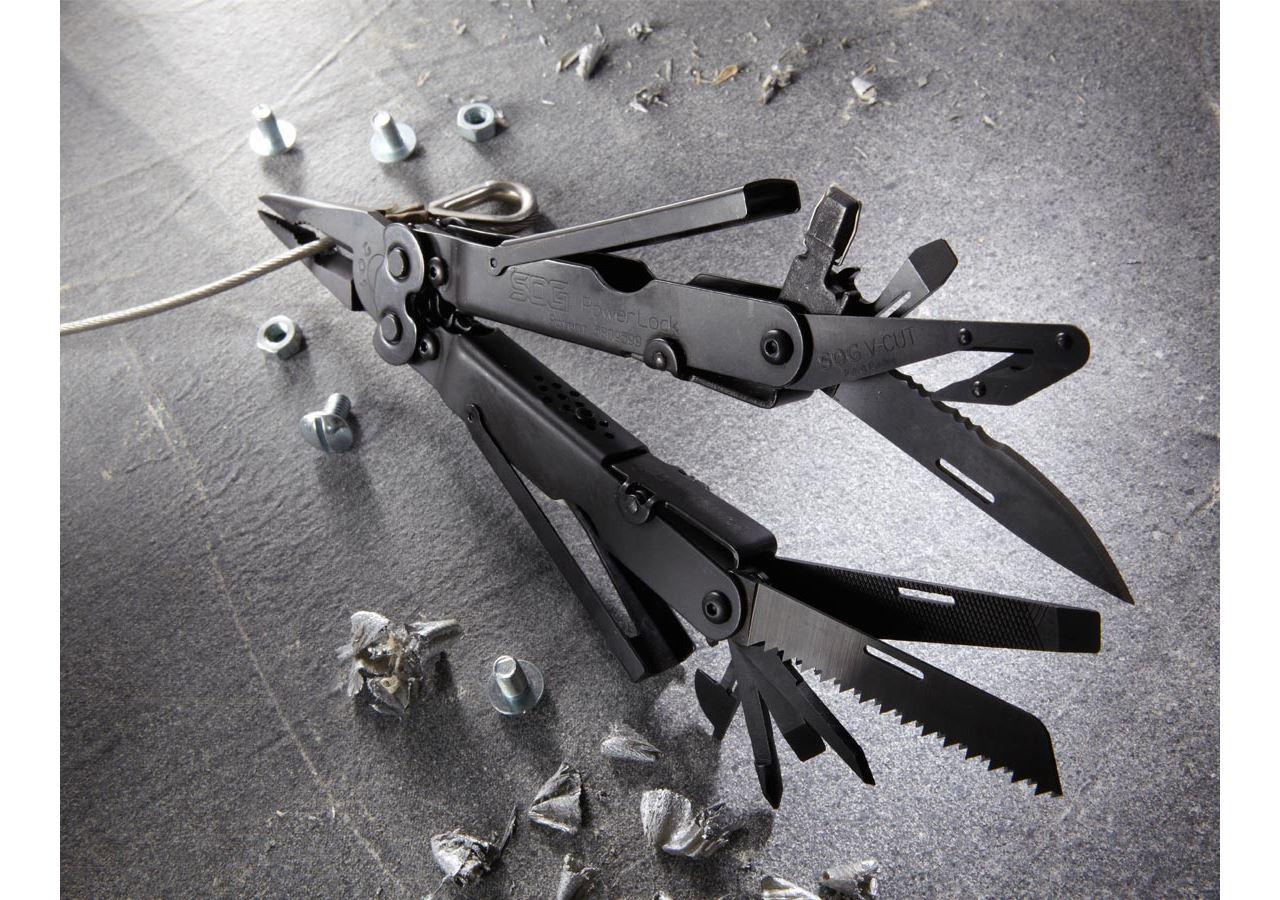 Nože: SOG multifunkční nástroj Powerlock EOD