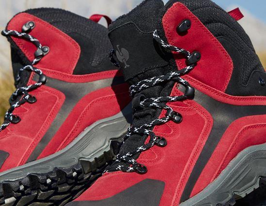 O2: e.s. O2 Pracovní obuv Culio + červená/černá 2