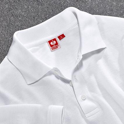 Trička, svetry & košile: Pique-Polo e.s.industry + bílá 2