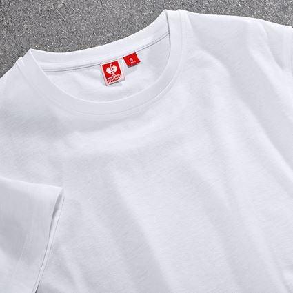 Trička, svetry & košile: Tričko e.s.industry + bílá 2