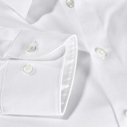 Trička, svetry & košile: e.s. Business košile cotton stretch, slim fit + bílá 2