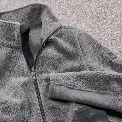Pracovní bundy: Dámská bunda z vlákenného rouna e.s.vintage + cínová 2