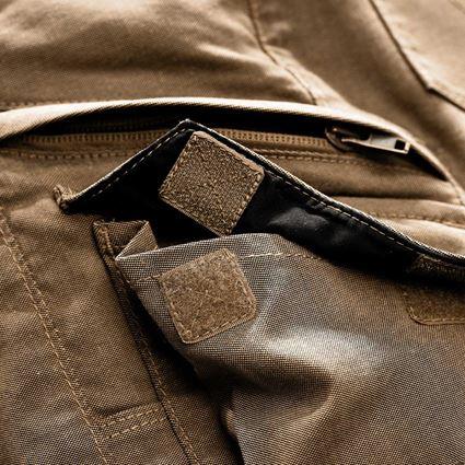 Pracovní kalhoty: Cargo kalhoty e.s.vintage, dámské + sépiová 2