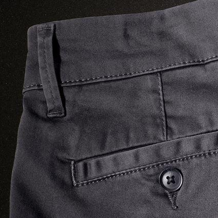 Pracovní kalhoty: e.s. Pracovní kalhoty s 5 kapsami Chino + antracit 2