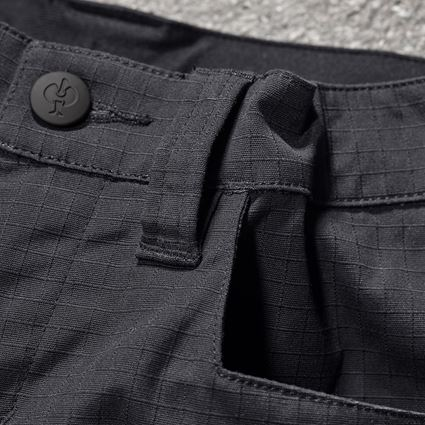 Kalhoty: Kalhoty do pasu e.s.concrete solid, dětské + černá 2