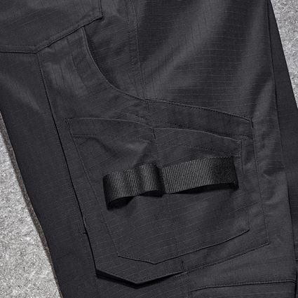 Pracovní kalhoty: Kalhoty do pasu e.s.concrete solid, dámská + černá 2