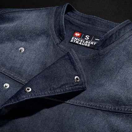 Trička, svetry & košile: e.s. Kuchařská bunda denim + mediumwashed 3