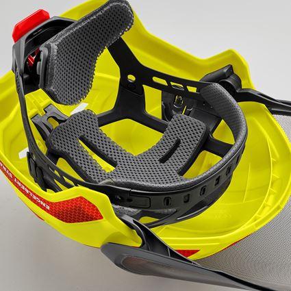 Ochranné přilby: e.s. Lesnická helma Protos® + výstražná žlutá/ohnivě červená 5