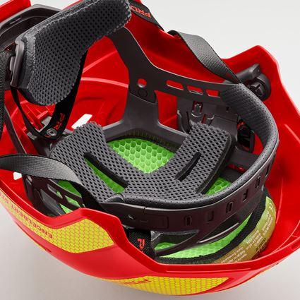 Ochranné přilby: e.s. Horolezecká přilba Protos® + ohnivě červená/žlutá 3