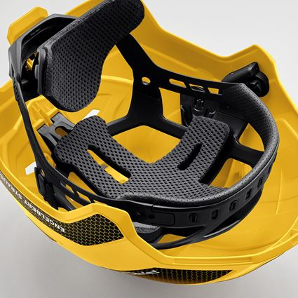 Ochranné přilby: e.s. Pracovní přilba Protos® + žlutá/černá 5