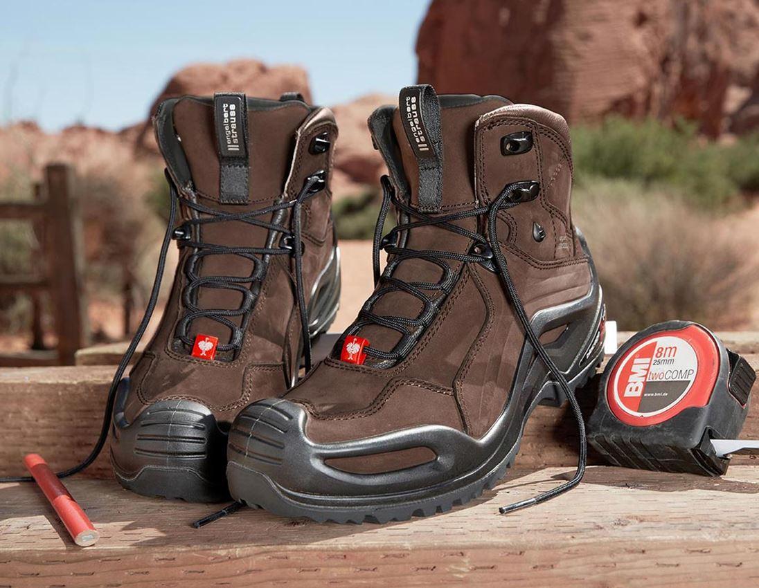 O2: e.s. O2 Pracovní obuv Themisto mid + kůra