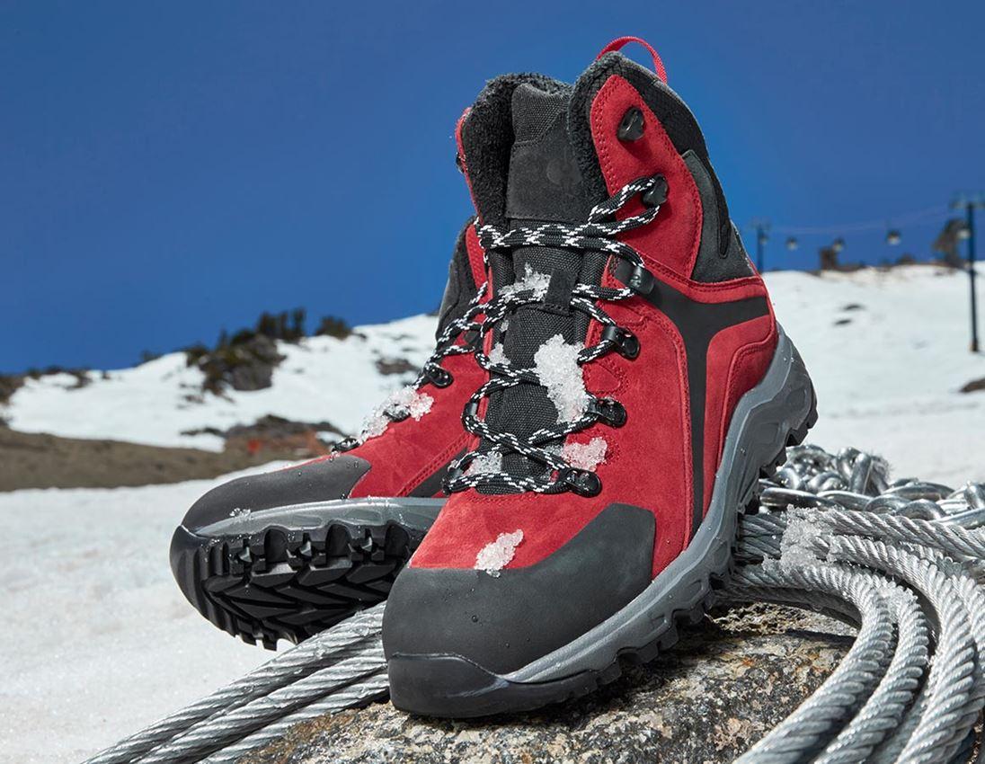 O2: e.s. O2 Pracovní obuv Culio + červená/černá