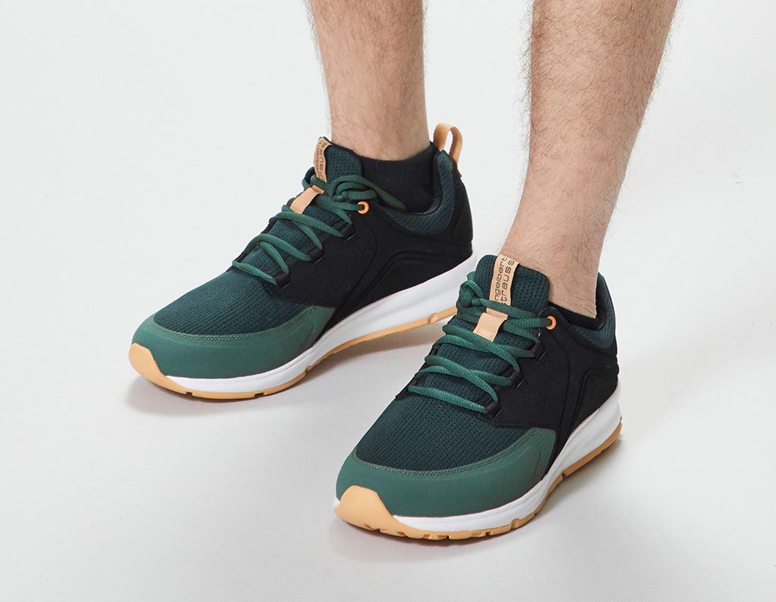 O1: e.s. O1 Pracovní obuv Honnor, pánská + oxidově černá/noční zelená 1