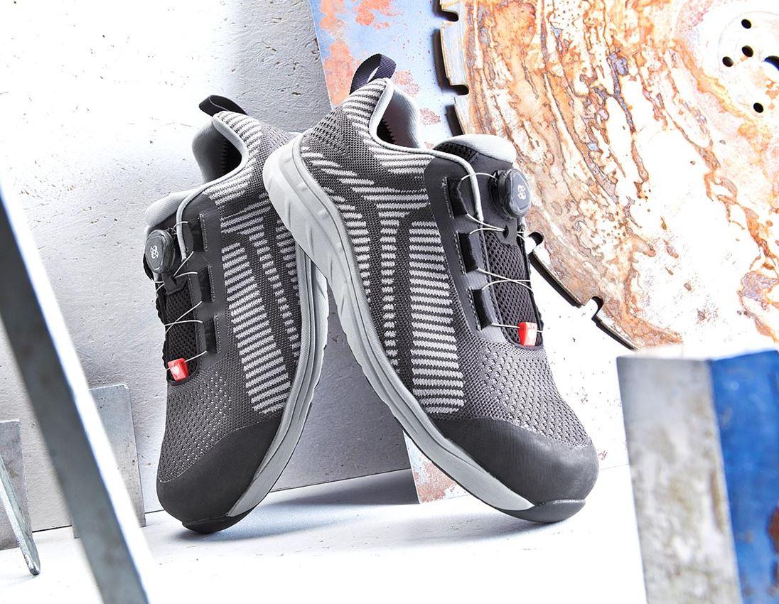 S1: e.s. S1 Bezpečnostní obuv Tegmen II low + antracit/platinová