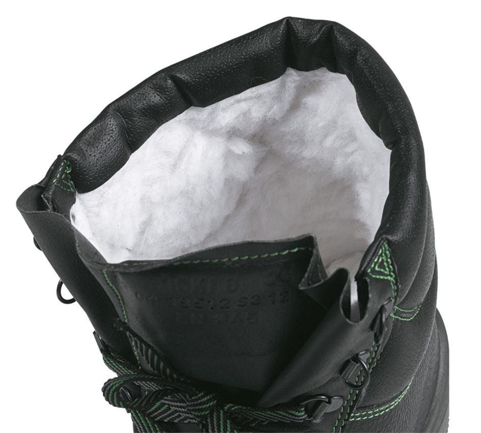 S3: S3 Zimní vysoká bezpečnostní obuv Basic + černá 1