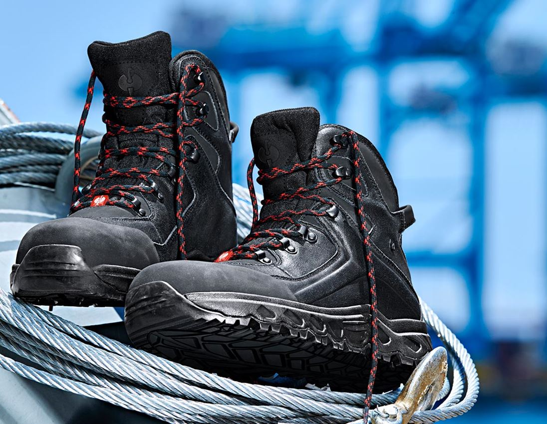S3: e.s. S3 Bezpečnostní obuv Siom-x12 mid + černá