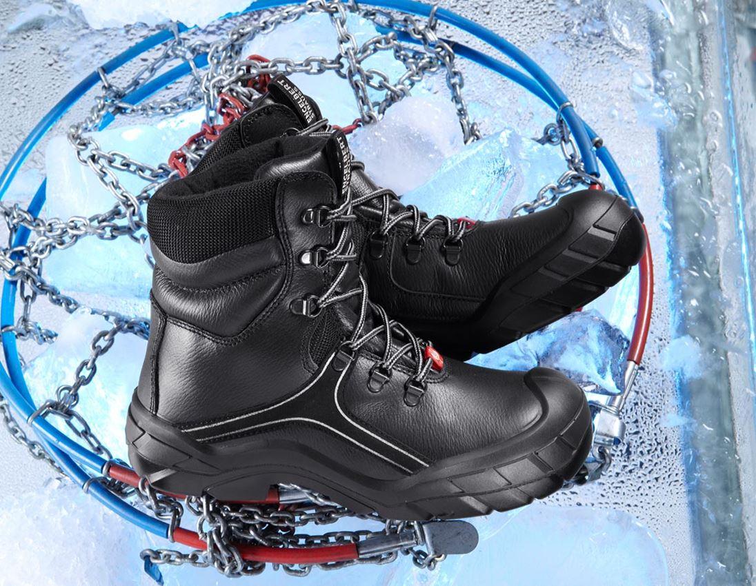 S3: e.s. S3 Bezpečnostní obuv Canopus + černá