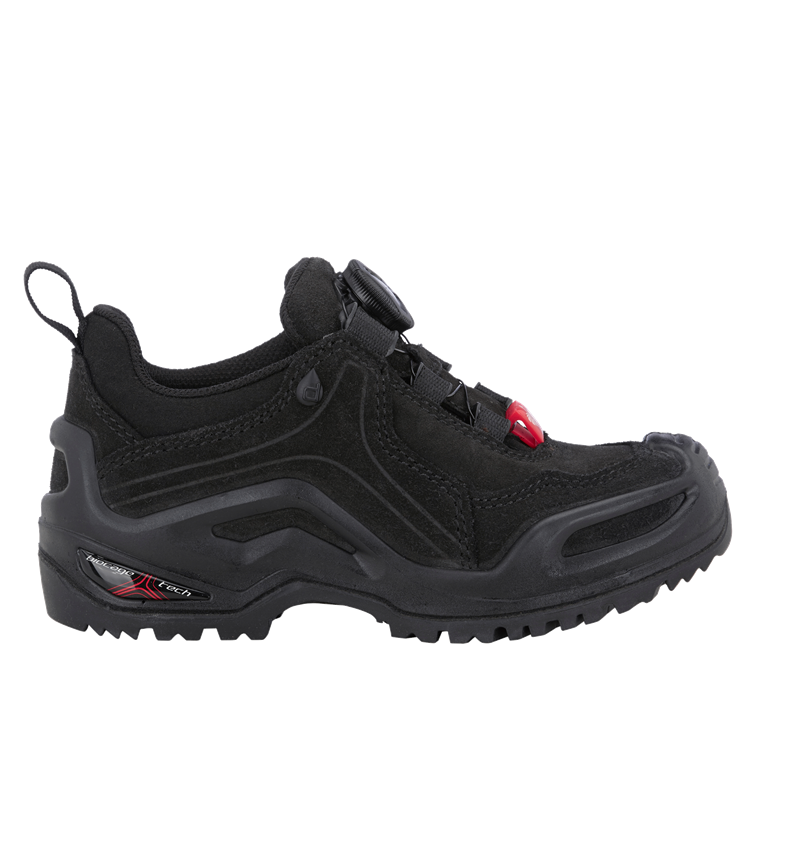 Dětská obuv: e.s. Víceúčelová obuv Apate low, dětská + černá