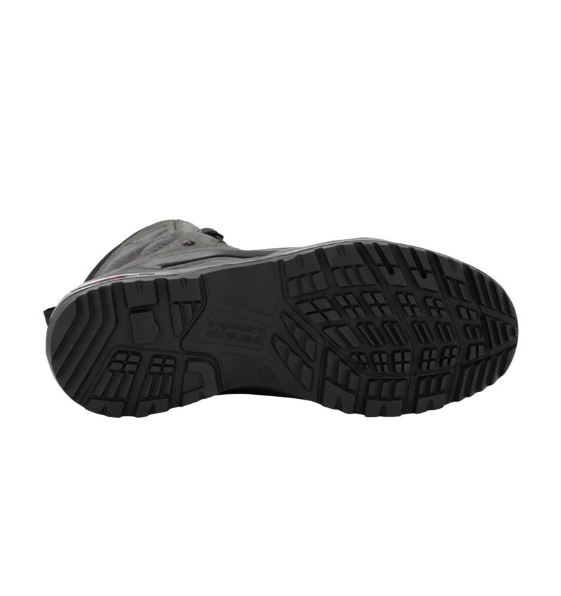 O2: e.s. O2 Pracovní obuv Apate mid + antracit/černá 2