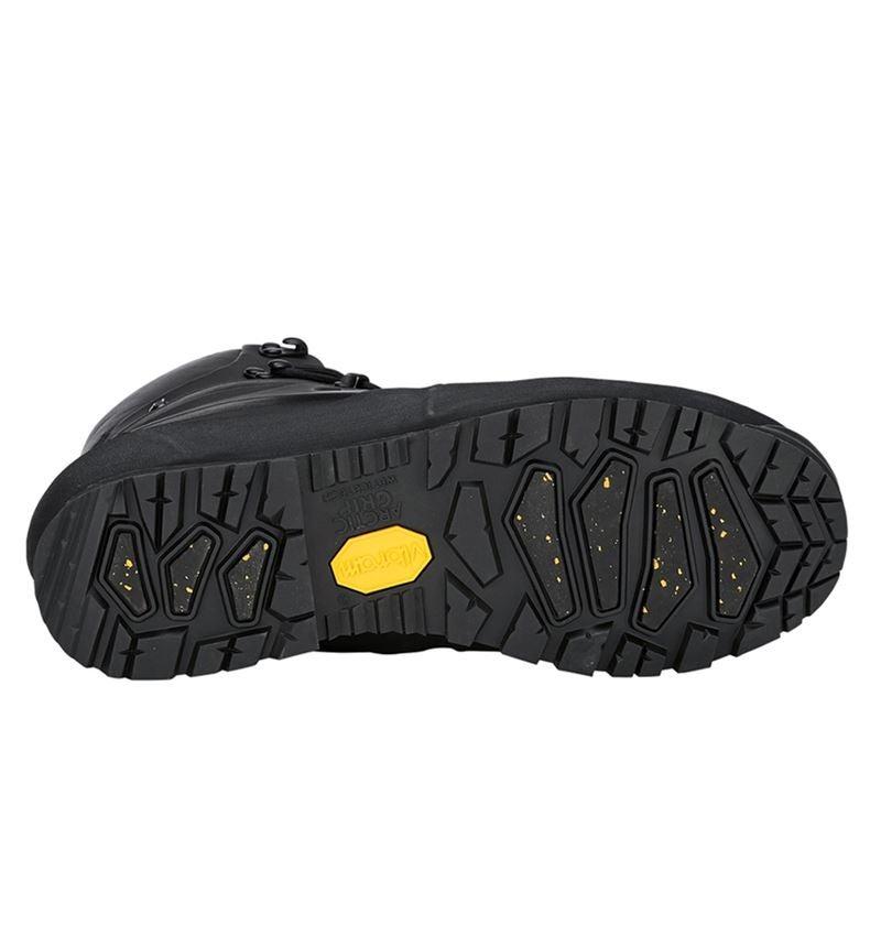 O2: e.s. O2 Zimní pracovní obuv Priapos mid + černá 2