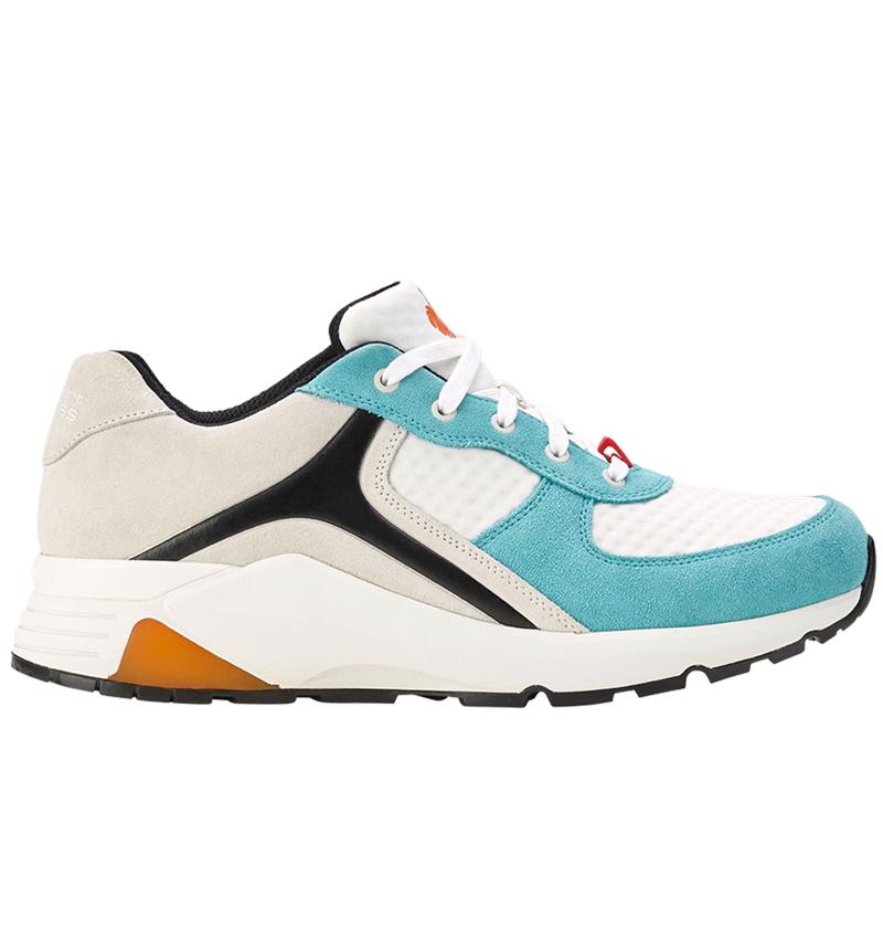 O1: e.s. O1 Pracovní obuv Ceres + bílá/mykonos modrá