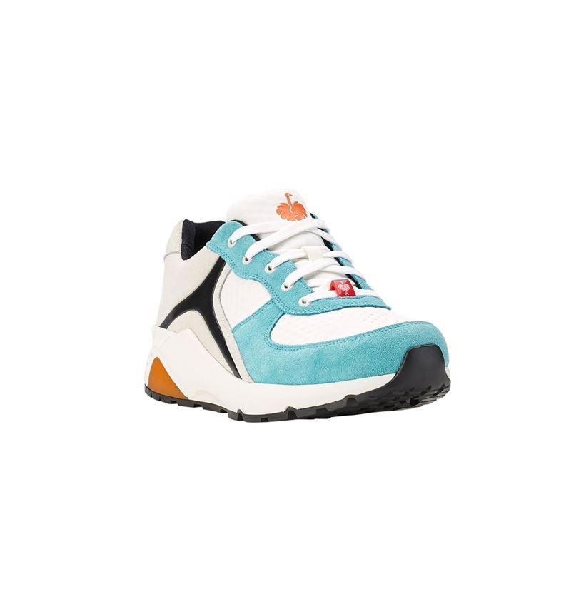 O1: e.s. O1 Pracovní obuv Ceres + bílá/mykonos modrá 1