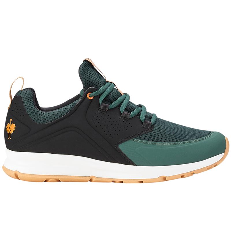 O1: e.s. O1 Pracovní obuv Honnor, pánská + oxidově černá/noční zelená