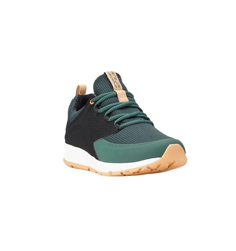 O1: e.s. O1 Pracovní obuv Honnor, pánská + oxidově černá/noční zelená 2