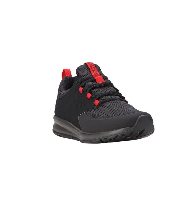 O1: e.s. O1 Pracovní obuv Honnor, pánská + oxidově černá/červená 1