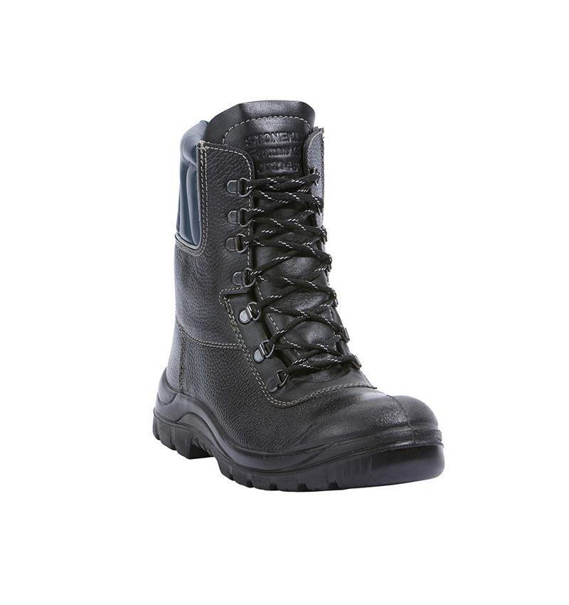 S3: STONEKIT S3 Zimní vysoká bezpečnostní obuv Ottawa + černá/modrá 2