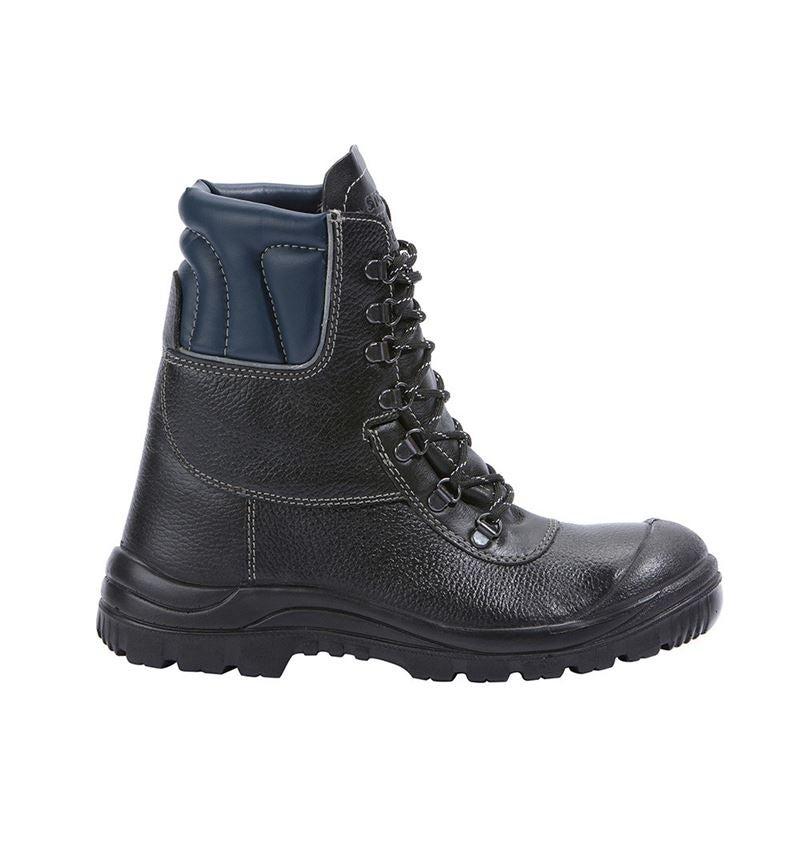 S3: STONEKIT S3 Zimní vysoká bezpečnostní obuv Ottawa + černá/modrá