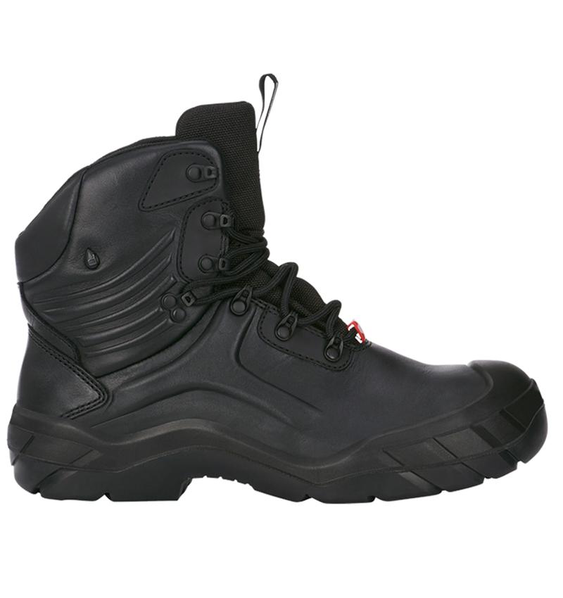 S3: e.s. S3 Bezpečnostní obuv Apodis mid + černá