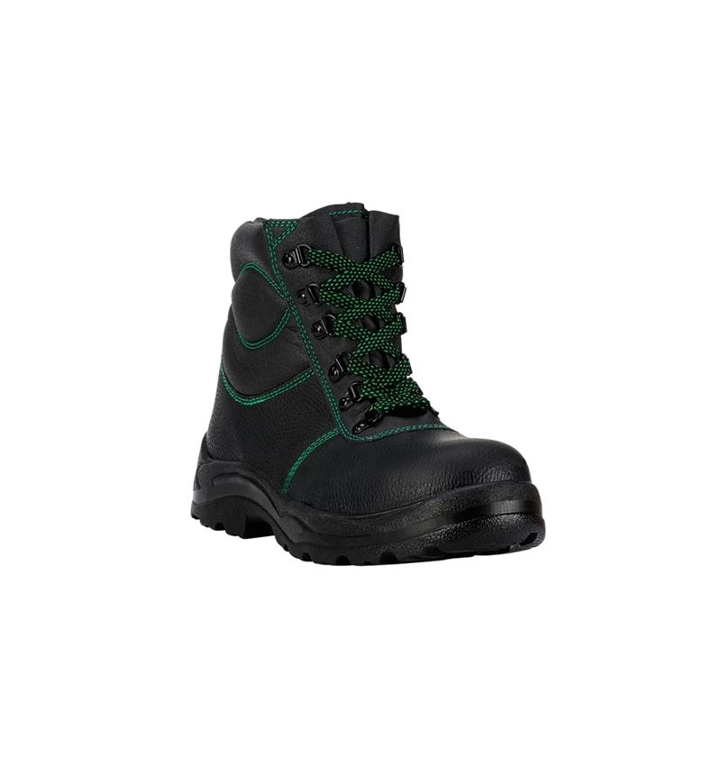 S3: S3 Zimní vysoká bezpečnostní obuv Basic + černá 2