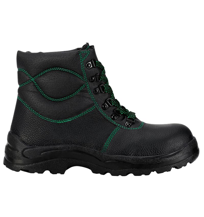 S3: S3 Zimní vysoká bezpečnostní obuv Basic + černá