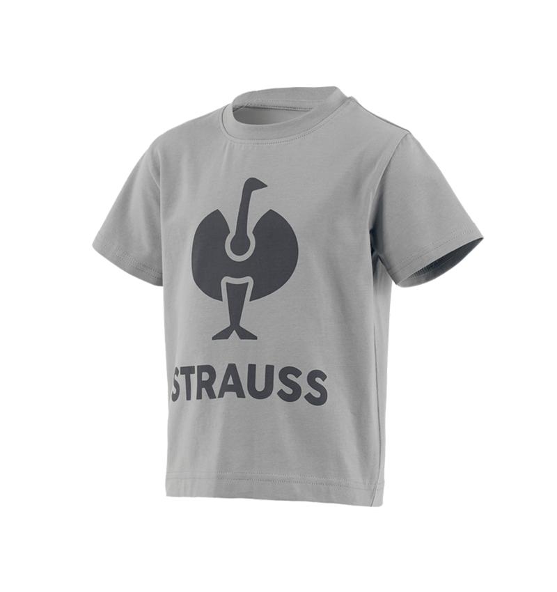 Trička | Svetry | Košile: Tričko e.s.concrete, dětská + perlově šedá