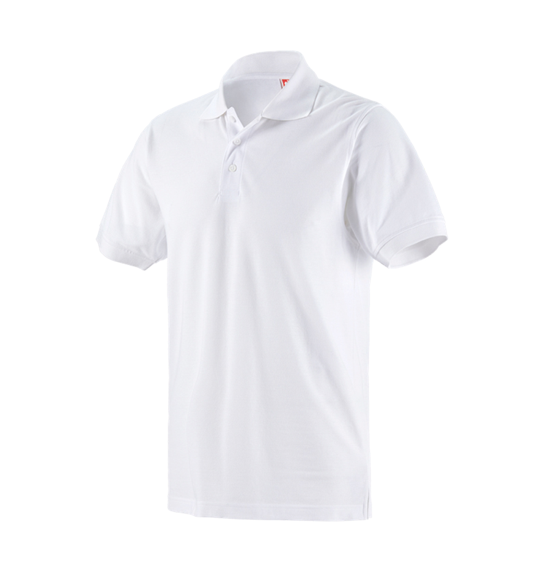 Trička, svetry & košile: Pique-Polo e.s.industry + bílá