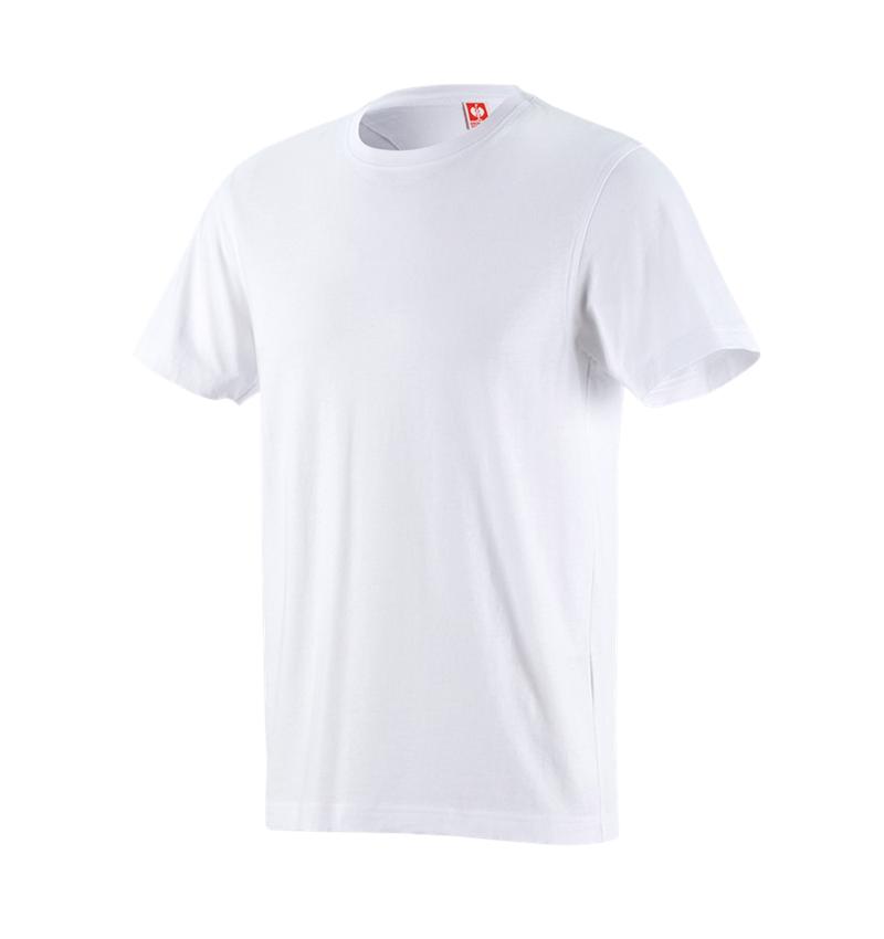 Trička, svetry & košile: Tričko e.s.industry + bílá