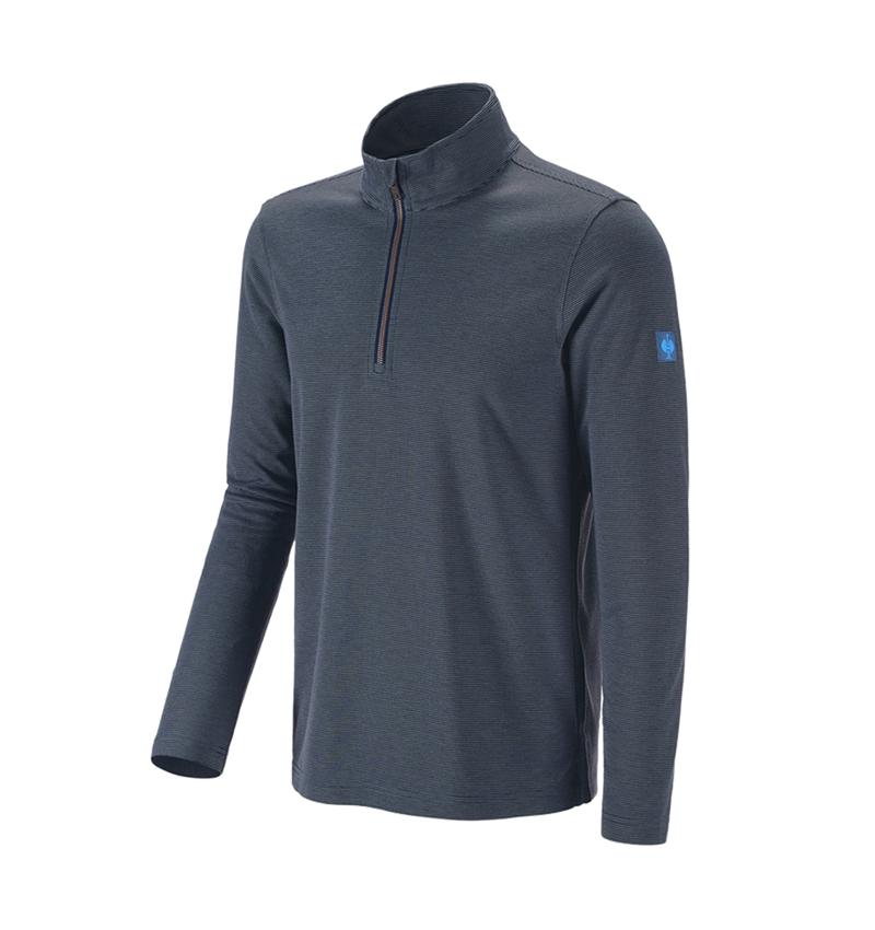 Trička, svetry & košile: Troyer e.s.vintage + ledově modrá