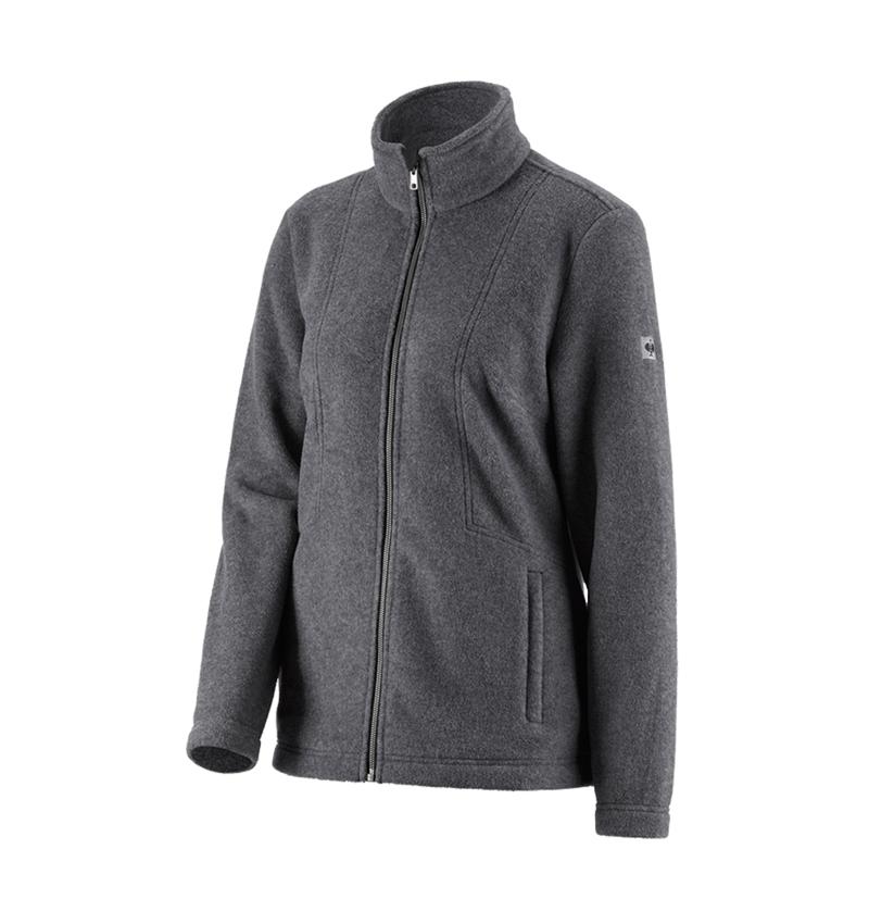 Pracovní bundy: Dámská fleecová bunda e.s.vintage + černá