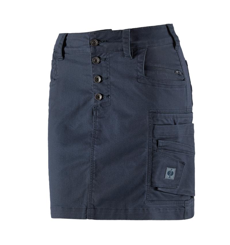 Šaty   Sukně: Sukně e.s.motion ten, dámská + břidlicová modrá