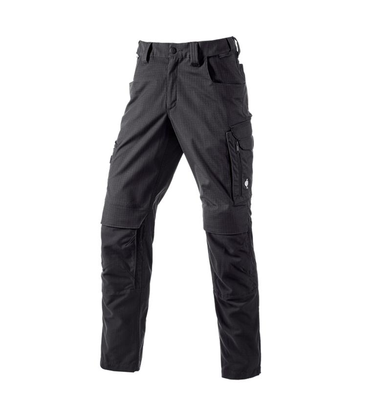 Pracovní kalhoty: Kalhoty do pasu e.s.concrete solid + černá