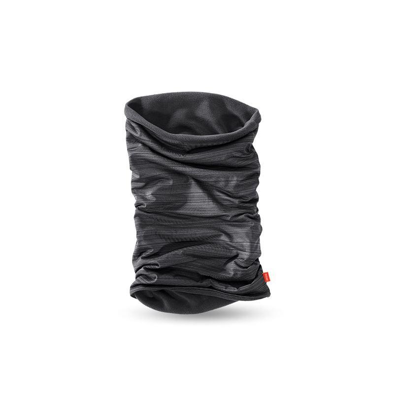 Doplňky: e.s. multifunkční šátek z microfleecu + černá