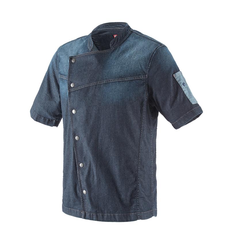 Trička, svetry & košile: e.s. Kuchařská bunda denim + mediumwashed