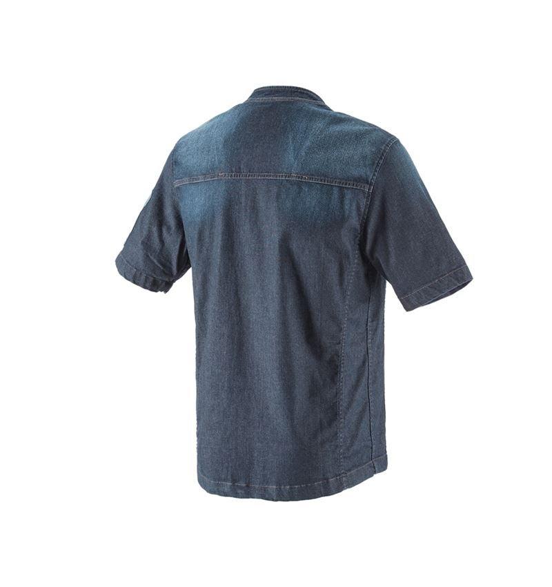 Trička, svetry & košile: e.s. Kuchařská bunda denim + mediumwashed 2