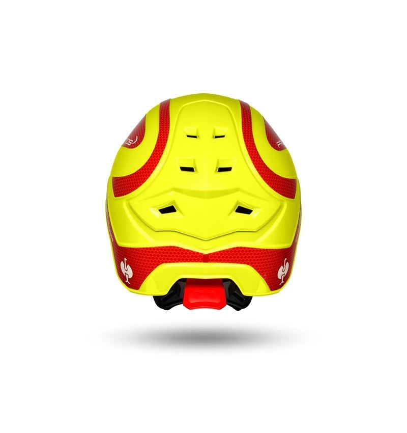 Ochranné přilby: e.s. Lesnická helma Protos® + výstražná žlutá/ohnivě červená 4