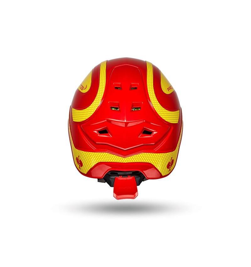 Ochranné přilby: e.s. Horolezecká přilba Protos® + ohnivě červená/žlutá 2